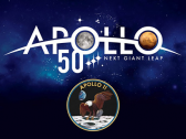 Apollo 11 event logo